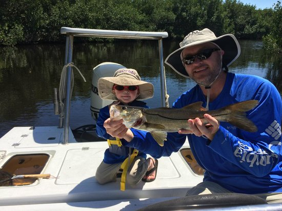 Outgoing Charters - Private Trips: Father and Son