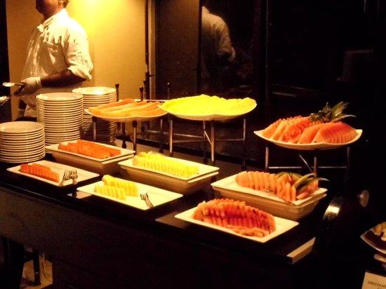 The Surf Hotel: Abendbuffet, Desserts/Früchte