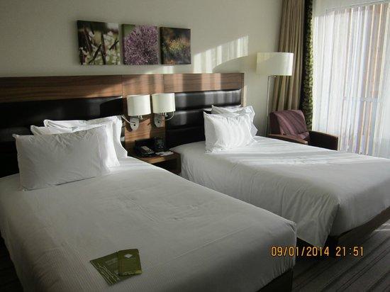 Hilton Garden Inn Davos: Beds very comfortable