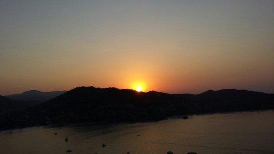 Villas El Morro: Sun rising