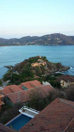 Villas El Morro: Vista desde la terraza