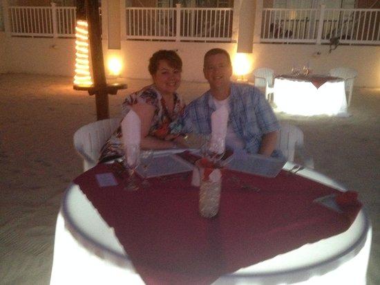 Cozumel Palace: Romantic Dinner!