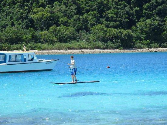 Paradise Cove Resort : Paddle boarding
