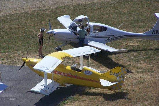 Flugwerft Schleißheim: На летном поле