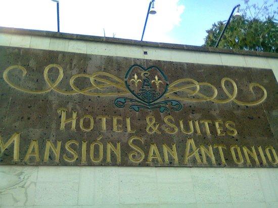 Hotel Mansion San Antonio: Entrance