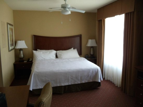 Homewood Suites Decatur-Forsyth: King Bed