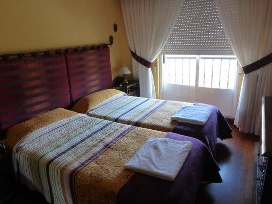 Pension Arca: Our room