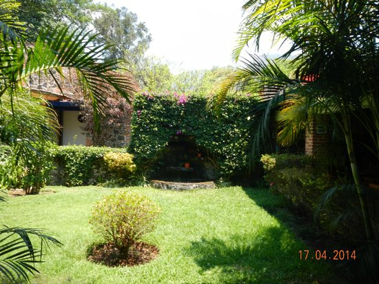 Hotel & SPA Posada del Valle: Garden