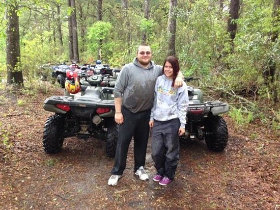 Carolinabackwoods ATV Tours: The after photo.