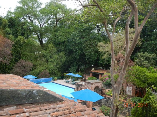 Hotel & SPA Posada del Valle : View from second floor