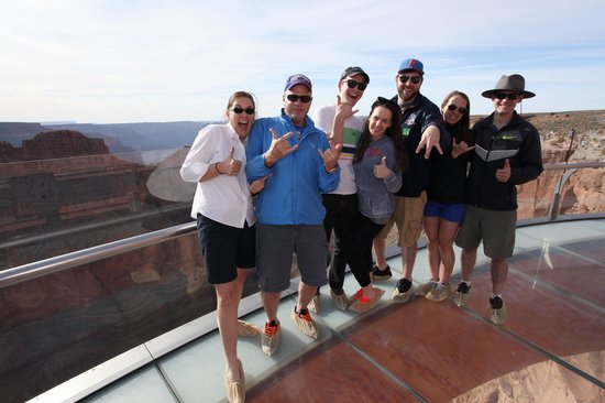 Grand Canyon Skywalk: Eagle point skywalk