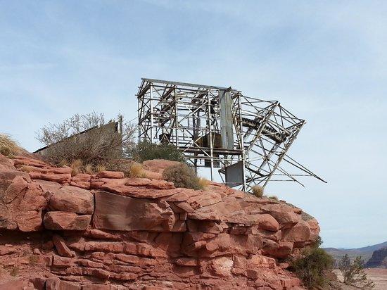 Grand Canyon Skywalk: Guano Point