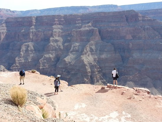 Grand Canyon Skywalk: Guano point