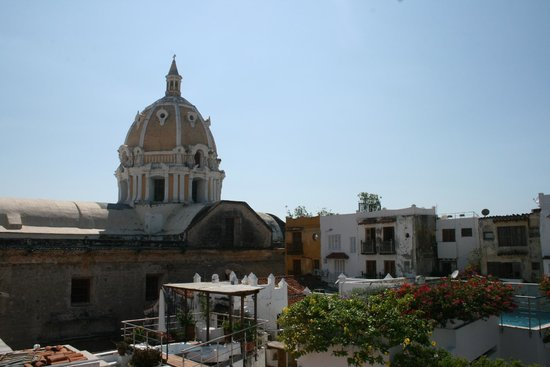 Casa Claver Loft Boutique Hotel: View from the roof top