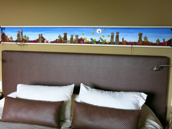 KKala Boutique Hotel: the headboard