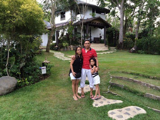 Nurture Wellness Village: 1st day with my lovely and pretty wife and my princess