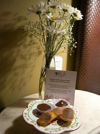 KKala Boutique Hotel: the evening 'regalo'