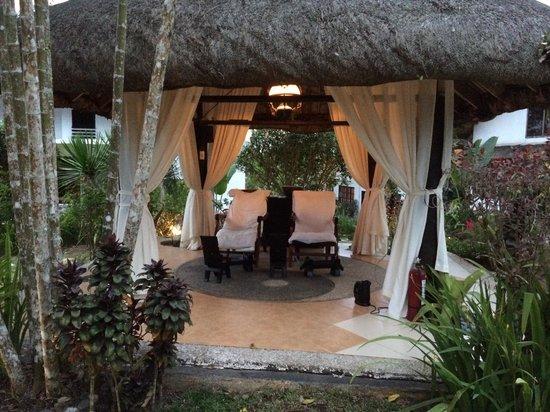 Nurture Wellness Village: Foot massage hut..