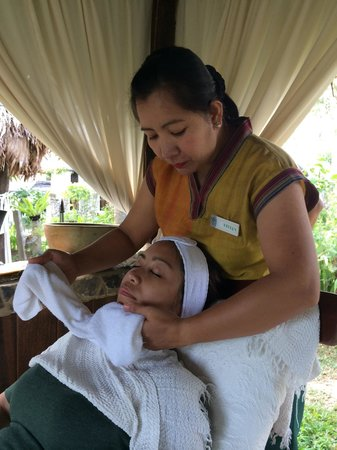 Nurture Wellness Village : A good day for my beautiful wife facial..