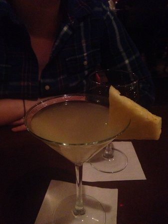 Loretta: Coconut pineapple martini!