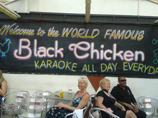The Black Chicken