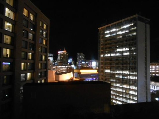 Grand Millennium Auckland: View night time