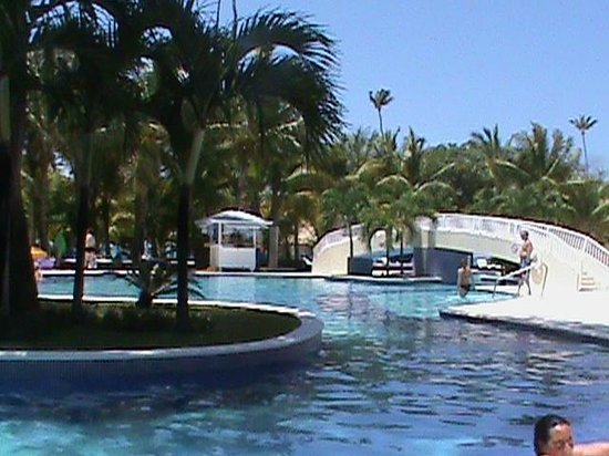 Luxury Bahia Principe Cayo Levantado Don Pablo Collection: Bridge over Playa Pool