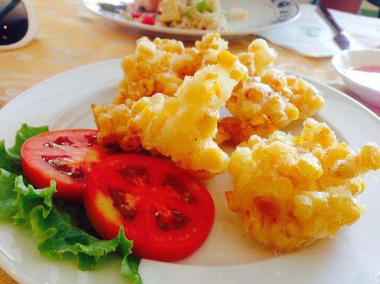Sawasdee Restaurant: Fried Corn Patties