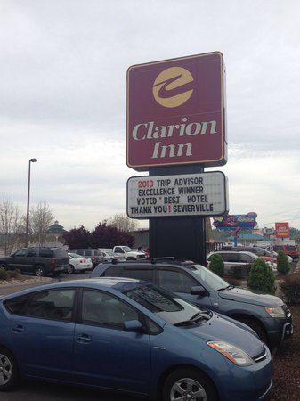 Clarion Inn Willow River: April 2014