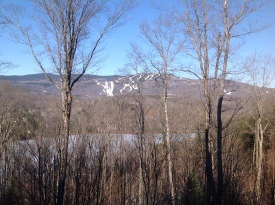 Cap Tremblant Mountain Resort: vue de la terrasse building 260 apt.7