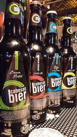 Ennis irish pub: Cabesas bier de Tacuarembó
