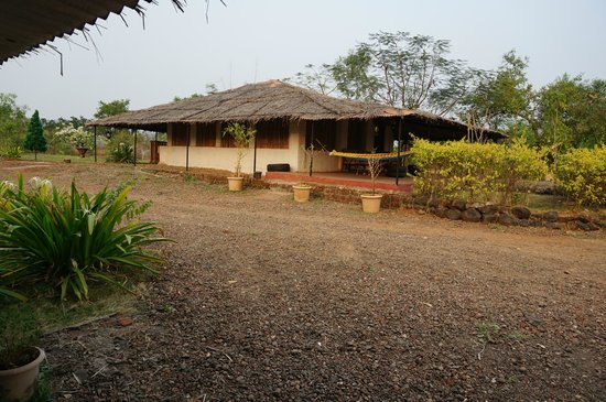 Uddar, India: Cottage - One of the four types they have
