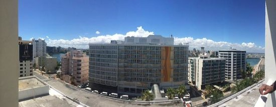 The Condado Plaza Hilton : View of Ashford Ave from 7th floor