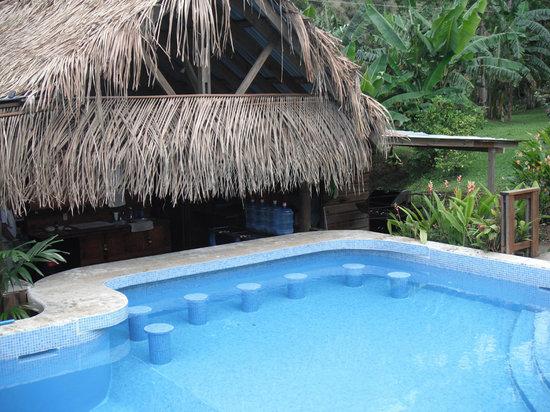 Guava Grove Villas and Resort: Pool bar seats