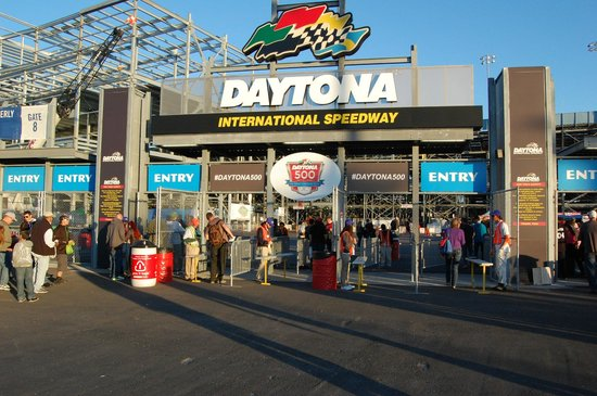 Daytona International Speedway: entrance gate