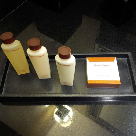 Waldorf Astoria Orlando : Salvatore Ferragamo toiletries
