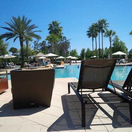 Waldorf Astoria Orlando : pool view