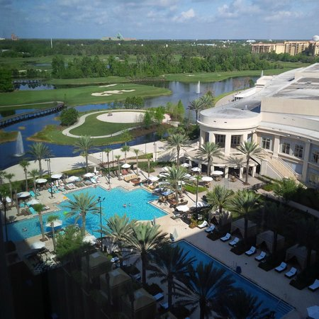 Waldorf Astoria Orlando: view from my room