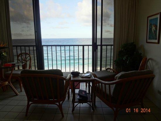 Hawaiian Princess Resort: We enjoyed the comfortable chairs