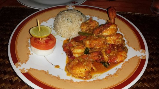 DiyaSisila Restaurant: Sri Lanka shrimp
