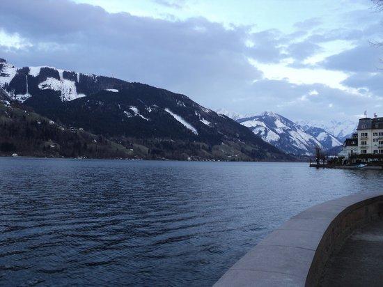 Zeller See: вид на озеро