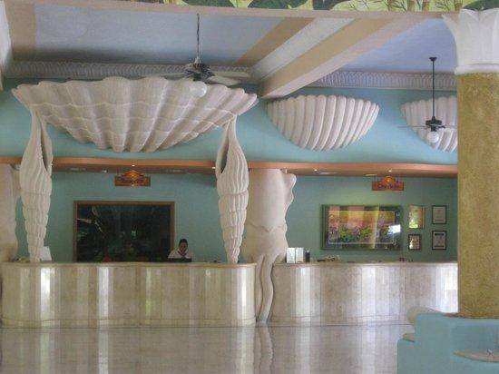 IBEROSTAR Paraiso Del Mar: Réception de l'hôtel