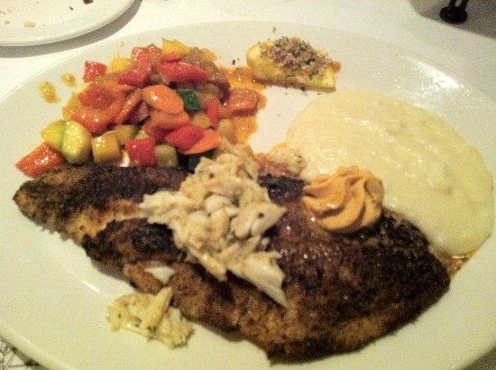 K-Paul's Louisiana Kitchen : Blackened Drum... Yum!