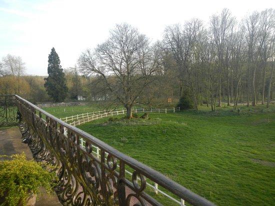 Domaine de Vadancourt : View from Balcony