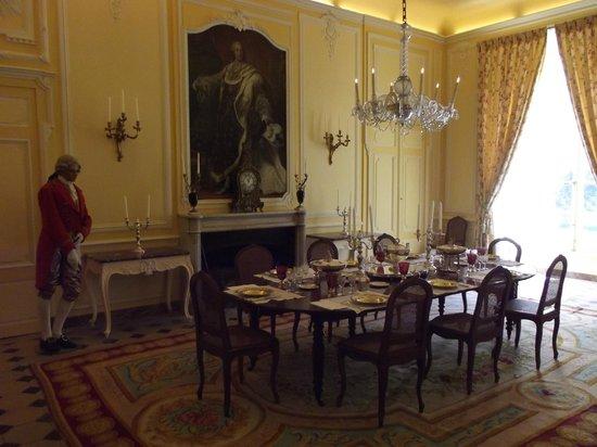 Château d'Ussé : La salle a manger
