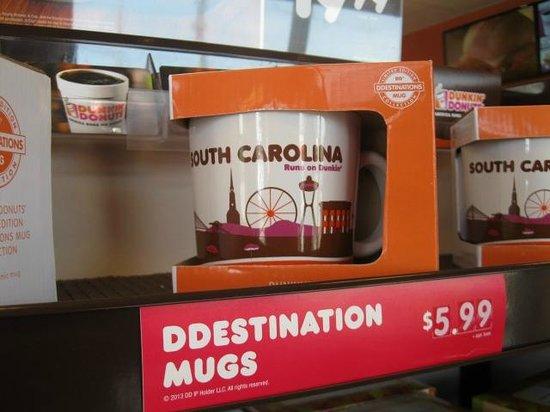 Dunkin' Donuts: mugs