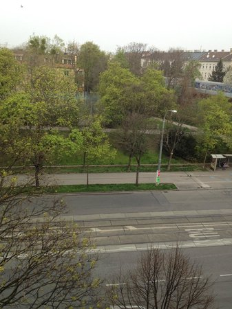 Austria Trend Hotel Park Royal Palace Wien: The view from my room