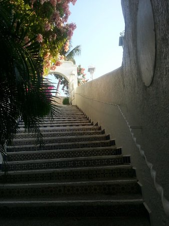 Su Casa: Stairway to heaven...or at least the best restaurant I've been to.