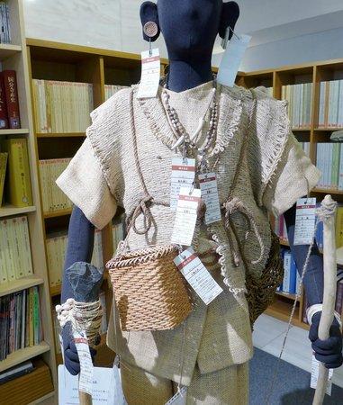 Tokyo Buried Cultural Assets Center : 縄文時代のファッション