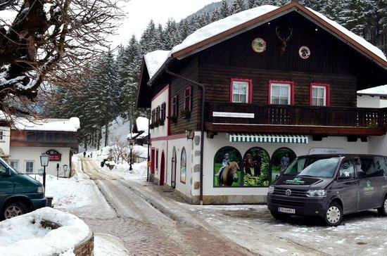 Hoteldorf Grüner Baum: Грюне Баум - мини-поселочек